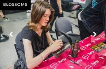 Blossoms signing